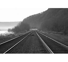 Track Crossover - Duncannon Photographic Print
