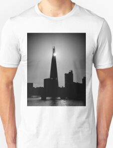The Shard With The Morning Sun Unisex T-Shirt