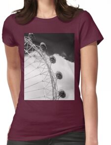 London Eye Pods in Monochrome Womens Fitted T-Shirt