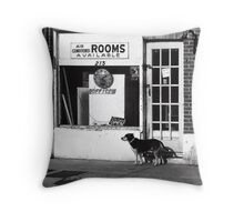Rooms Available Throw Pillow