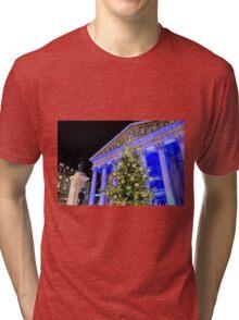 Royal Exchange At Christmas Tri-blend T-Shirt
