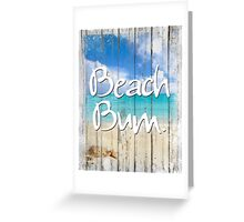 Beach House Coastal art Greeting Card