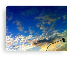 Green Light to Reach the Sky Canvas Print