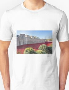 Tower Of London Poppies Unisex T-Shirt