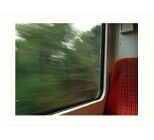 Commuter view of Surrey Art Print