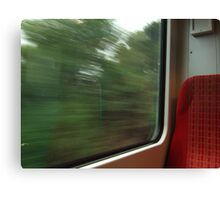Commuter view of Surrey Canvas Print