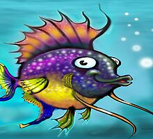 Rainbow Fish by Kevin Middleton