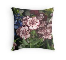 Freezer, Flowers and Fabulosity Throw Pillow