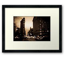 The Flatiron District, Manhattan Framed Print