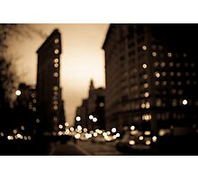 The Flatiron District, Manhattan Photographic Print
