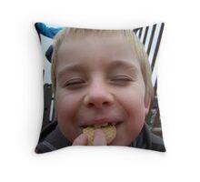 Loving biscuits - Bartek Throw Pillow