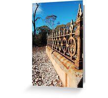 At peace - Paddington Cemetery, Western Australia Greeting Card