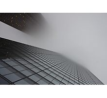 Just Fog Photographic Print