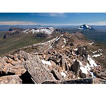 Northwards from Mount Ossa - Cradle Mountain National Park Photographic Print