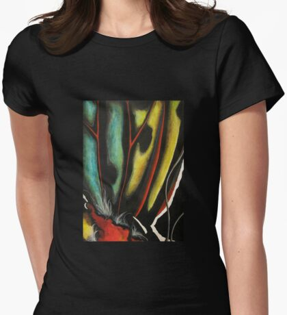Swallowtail Enraged Womens Fitted T-Shirt