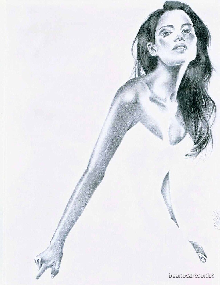 Pencil drawing 1 by beanocartoonist