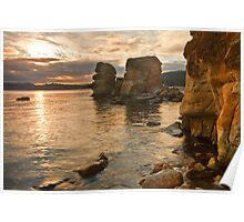 Snug Cliffs Poster