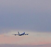 Air Force One leaving the Allentown Int. Airport..... by DaveHrusecky