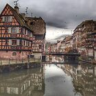 Petit France, Strasbourg by Murray Swift
