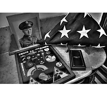 My War Hero Photographic Print
