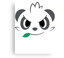 Pokemon - Pancham / Yancham Canvas Print