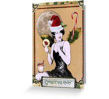 Christmas Fairy Card Greeting Card