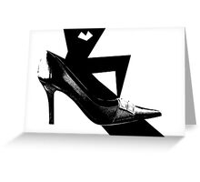 Smart Shoe Greeting Card