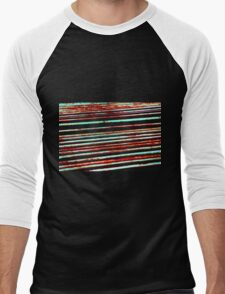 Metalic Stripes 1 Men's Baseball ¾ T-Shirt