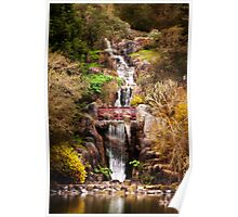 Golden Gate Park Waterfall Poster