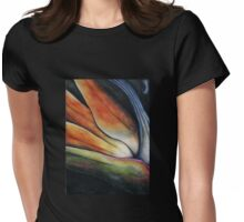 Stillness Womens Fitted T-Shirt