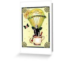 Christmas Balloon Card Greeting Card
