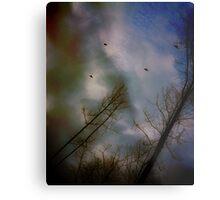 Flight o' Wild Turkeys Metal Print