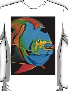 Angel Fish Swimming in the Sea T-Shirt