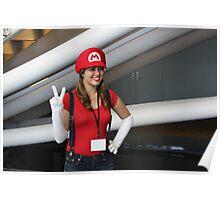 Female Mario!  Mamma Mia! Poster