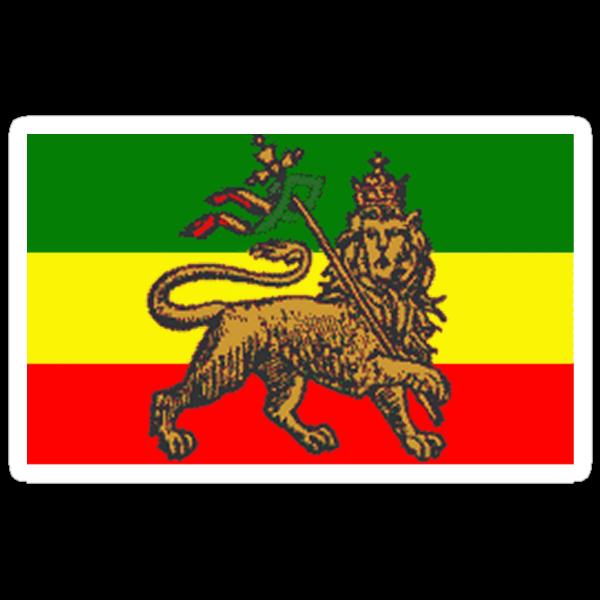 Rasta Lion by nimbinmagic