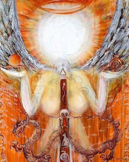 GODDESS OF LIGHT  by whittyart