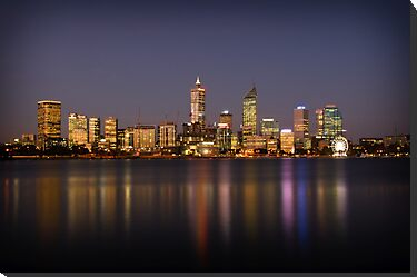 City of Perth by Jan Fijolek