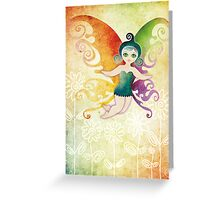 Butterfly Fairy Greeting Card