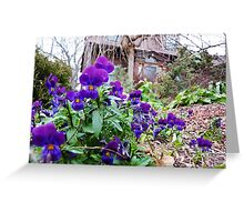 Violet Watchmen Greeting Card