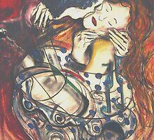 "The Kiss ""2009"" by David Grudniski"
