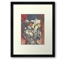 "The Kiss ""2009"" Framed Print"