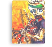 Fiddler Canvas Print