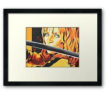 Kill Bill: The Bride Framed Print