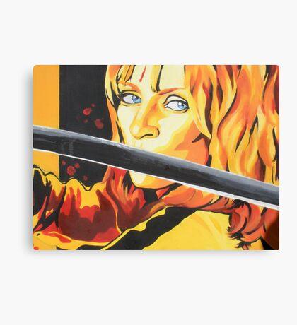 Kill Bill: The Bride Canvas Print