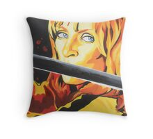 Kill Bill: The Bride Throw Pillow
