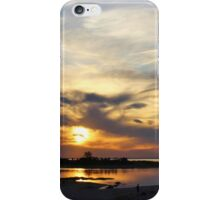 Sunset at Kings Park Bluff iPhone Case/Skin