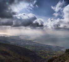 Panoramic view of Trapani by Andrea Rapisarda