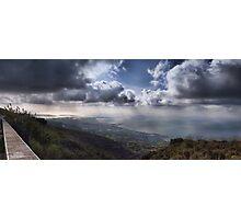 Panoramic view of Trapani Photographic Print