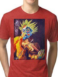 VIOLIN MAN Tri-blend T-Shirt