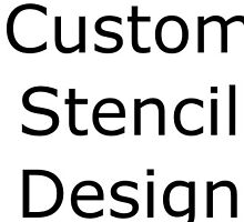 Variety of Custom Stencils for Engrave by eliana11